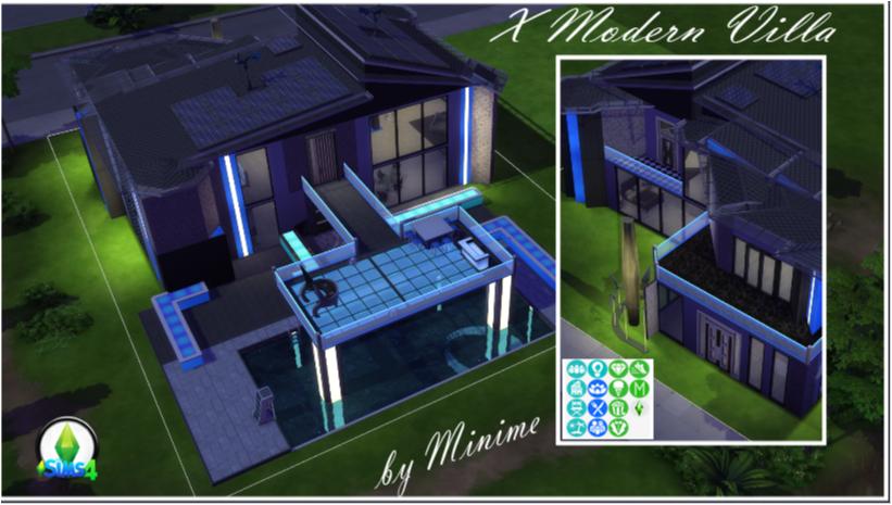 X Modern Villa
